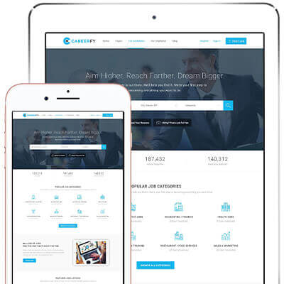 Job Theme | Job Board WordPress Themes - Wp Job Portal | Careerfy